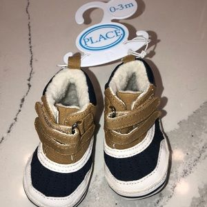 Children's place baby boy size 0-3 months boots